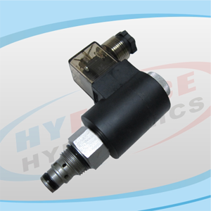 SV08-22 Series (2-Way, 2-Position, Poppet Type, Normally Closed) Reverse Flow Energized