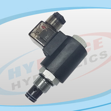 SV10-28 Series (2-Way, 2-Position, Poppet Type, Normally Closed) Bi-directional Blocking De-energized