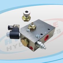 FDV06 Series Pressure Compensated Flow Regulators 3 Ways with Solenoid Control and Relief Valve