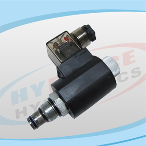 SV10-23 Series (2-Way, 2-Position, Poppet Type, Normally Open) Reverse Flow De-energized